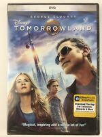 Tomorrowland  Disney DVD 2015 NEW SEALED Fast Free Shipping