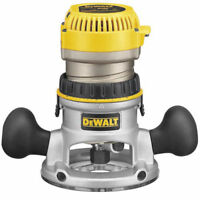 DeWalt DW618 2-1/4 Motor HP EVS Fixed Base Midsize Router with Soft Start New