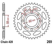TMP Pignon Sortie Boite Arrière 36 Dents (Chaîne428) DAELIM VT 125 Evoluti 98-02