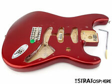 Fender Vintage 60s RI Stratocaster Strat BODY & HARDWARE Candy Apple Red SALE
