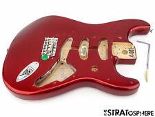 Fender Vintage 60s RI Stratocaster Strat BODY & HARDWARE Candy Apple Red SALE
