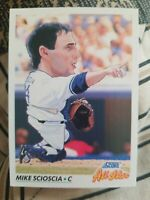 1992 Score #782 All-Star Mike Scioscia Los Angeles Dodgers Baseball Card