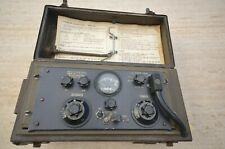 wireless set  WW2 58 MK.I  radioamateur radio HAM signal corps WWII