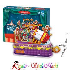 Cubic Fun - 3D Puzzle Circus Clown Cannon Zirkus Klaun Kanone