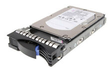 "Ibm 300gb SAS HDD 3.5"" 15k RPM 42c0242 43x0805 43x0602 Hus153030vls300 Caddy"