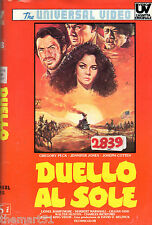 Duello al Sole (1946) VHS rara Ed. Universal Video  Gregory Peck King Vidor
