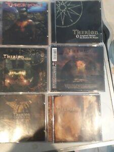 Therion Cd Album Collection Theli Vovin Sirius B Etc