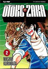 MANGA - Otoko Zaka N° 2 - Masami Kurumada - Jpop - NUOVO