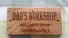 Personalised wooden outdoor signs,