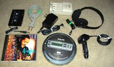 PHILIPS EXP2550 PORTABLE CD MP3 PLAYER ESP DDBB - MOST COMPLETE SET