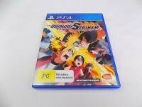 Mint Disc Playstation 4 Ps4 Naruto To Boruto Shinobi Striker Free Postage