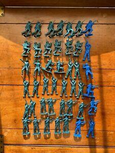 Lot of 44 MPC Civil War Plastic Soldiers, c.1960s-1970s