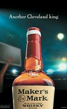 LeBron James Cleveland cavaliers /Makers mark poster 18 By 27