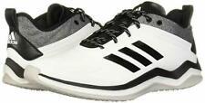New listing ADIDAS Speed Trainer 4 Turf Baseball Shoes White Black Men's Size 9.5 CG5134