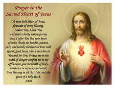 SACRED HEART OF JESUS PRAYER MAGNET