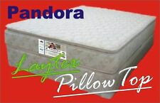 Queen Latex Pillow Top Mattress Cyclone