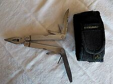 RETIRED LEATHERMAN TOOL-PST-PORTLAND OR US+SHEATH-Used-FREE SHIPPING