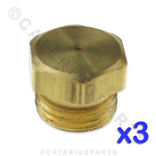 PACK OF 3 x PITCO P6071330 GAS BURNER INJECTOR ORIFICE JETS UNDRILLED NAT LPG LP