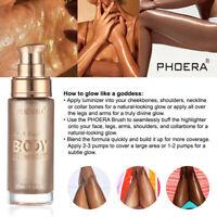 PHOERA Body luminizer Makeup Cream Face Body Shimmer Make Up Liquid Brighten