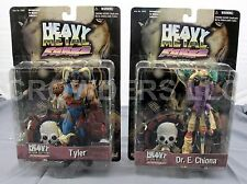 "Heavy Metal FAKK2 Game Series 1 Dr E Chiona & Lord Tyler 6"" Action Figures 2000"