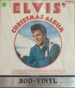 Elvis Presley - Christmas Album - Vinyl Record LP Album - CDS 1155 EX / EX