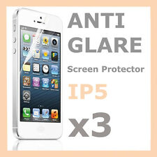 3 x Anti Glare Matte Screen Protector LCD Film Cover for Apple iPhone 5 5S 5C SE