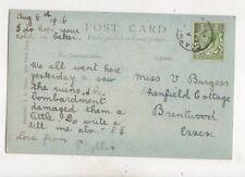 Miss V Burgess Shenfield Cottage Brentwood 1916 461b