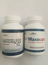 Neosizexl Penis Enlargement  + MaxoCum Ejaculate More semen Male Enhancement