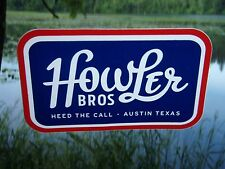 Howler Bros red white & blue sticker