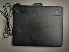 Wacom CTH-490 Intuos Touch Tablet Small Black board draw MISSING PEN BATTERY
