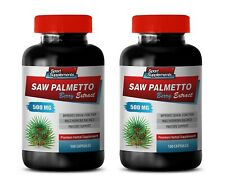 anti-inflammatory pain urination - SAW PALMETTO 500 - muscle growth 2 BOTTLE