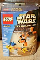 Lego 4485 Star Wars Sebulba's and Anakin's Podracers Mini Building Set