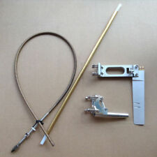 """Rudder Stinger Drive & 1/4"""" Cable Combo for 23-26cc Gas Marine Engine RC Boat"""