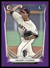 2014 Purple Parallel Kendry Flores #BP82 Rookie San Francisco Giants