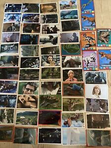 Panini Jurassic World The Ultimate Sticker Album X49 Stickers & Trading Cards x5