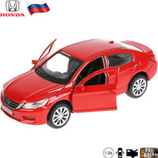Diecast Vehicles Scale 1:36 Honda Accord Red Russian Toy Model Car