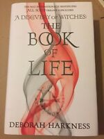 Deborah Harkness Signed Book The Book of Life UK 1/1 HBK 2014 Mint Condition