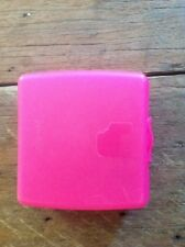 Pink Tupperware Sandwich Lunch Keeper Container Oyster