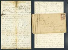 2144----Richard Esmond civil war letters -- 147th NY - Fulton/Volney Oswego CO
