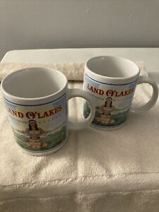 Vintage Land O Lakes Sweet Cream Butter Coffee Mug EXCELLENT Condition