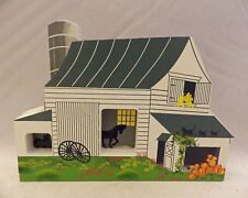 Shelia's Collectibles -Amish Barn - Amish Series - # Ams04 Ii