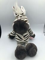 NICI Wild Friends Zebra Horse Stripes Plush Kids Soft Stuffed Toy Animal Doll