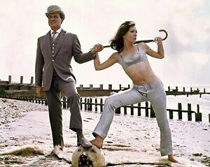 PATRICK MACNEE & DIANA RIGG 8x10 PHOTO - THE AVENGERS - ICONIC!!! 2