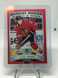 2019-20 OPC O PEE CHEE KIRBY DACH MARQUEE ROOKIES RED PARALLEL CARD