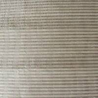 Taupe/Pearl/Beige Semi-Sheer Stripe Decorating Fabric, Fabric By The Yard