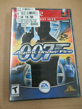 JAMES BOND 007 AGENT UNDER FIRE Brand New Factory Sealed PS2 PlayStation 2