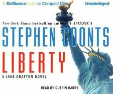 LIBERTY unabridged audio book on CD by STEPHEN COONTS  Brand New 12 CDs 15 Hours