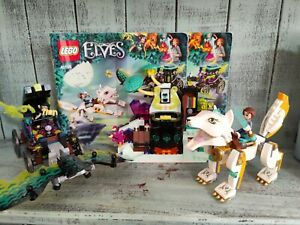 Lego Elves 41195 Emily And Noctura's Showdown 100% Complete Retired Set