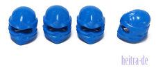 LEGO Ninjago - 4 x Turban blau / Kappe Tuch Helm / Blue Wrap / 98133 NEUWARE