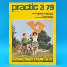 DDR practic 3/1979 Drachen Tischfußball Bootsantrieb Farbfilme entwickeln Y